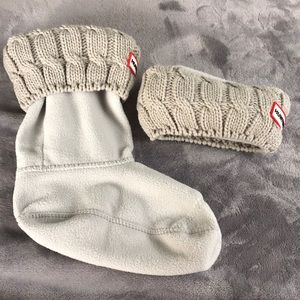 ✨Never Used ✨ Six-Stitch Cable Hunter Boot Socks